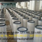 Cartridge Filter 320 x 220 x 660